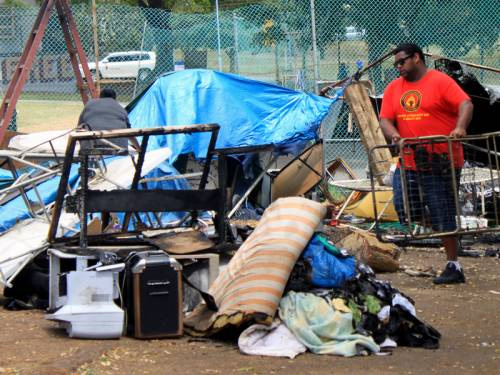 Click on images to enlarge & Fire destroys Musgrave Park Sovereign Tent Embassy | Sovereign ...