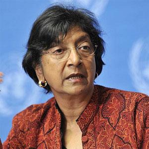 UN Commissioner Navanethem Pillay