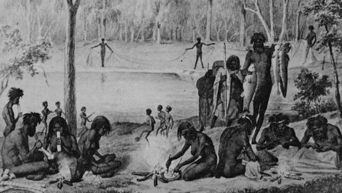 Research the Aboriginal timeline