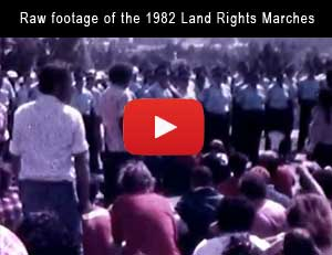 1982 Commonwealth Games Protest Footage
