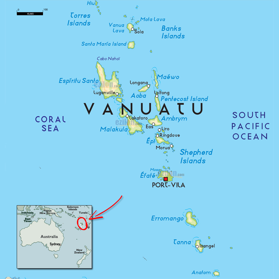 Vanuatu Minister Calls For Enshrining Of Custom Land Tenure To - Where is vanuatu