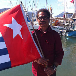West Papua - 'morning star' flag