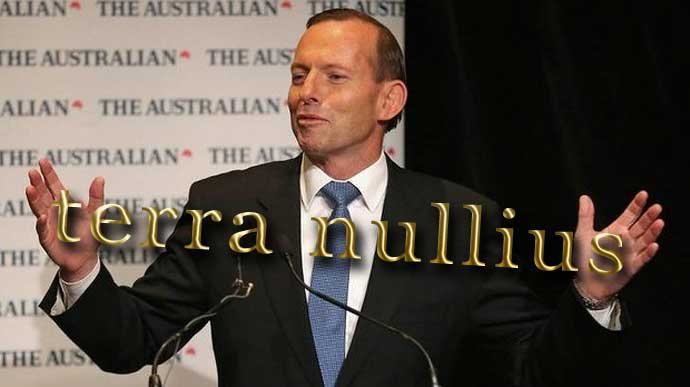 Expanded doctrine of terra nullius - very much alive in Australia