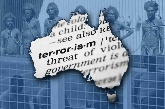 Terrorism - Genocide Australia First Nations & Peoples