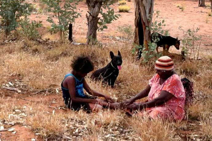 Iwana Antjiakitja from Kaltjti (Fregon community) in APY Lands <br>(Image: Anangu Ngangkari Tjutaku)