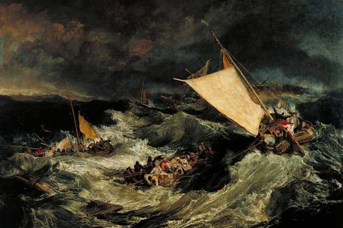 The Shipwreck by William Turner