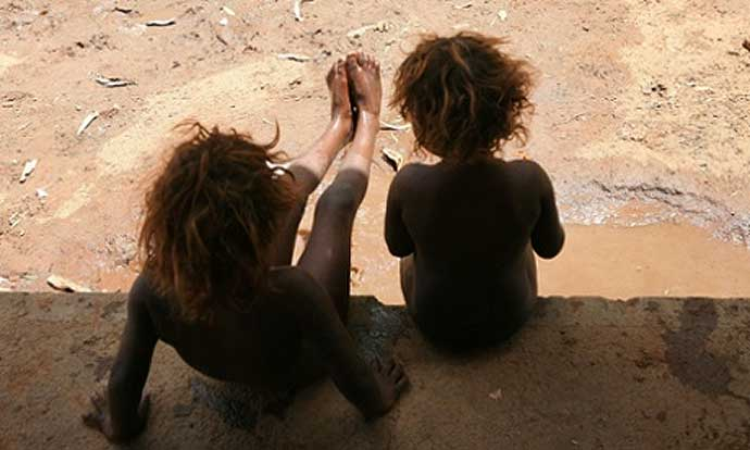 First Nations children in Alice Springs
