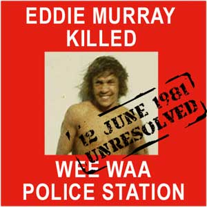 The murder of Eddie Murray | Sovereign Union - First Nations