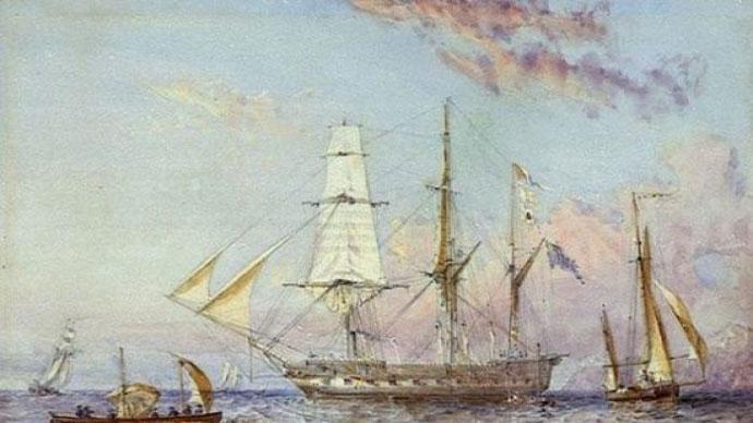 The HMS Rattlesnake