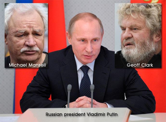Mansell Putin Clark