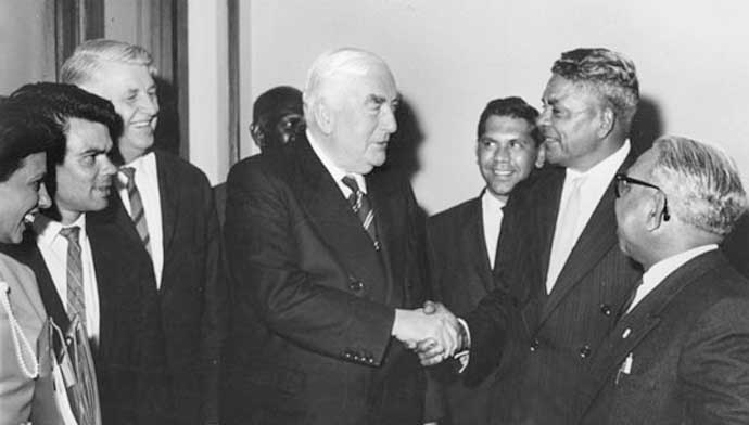 FCAATSI meet Prime Minister Robert Menzies in 1963