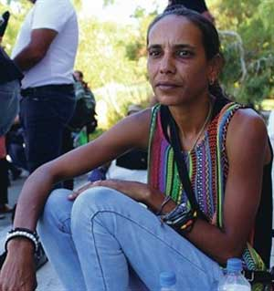Naomi Bropho wants to return to the Swan Valley Nyungah Community in Caversham, which was closed down by the government in 2003 and then bulldozed in March 2014.