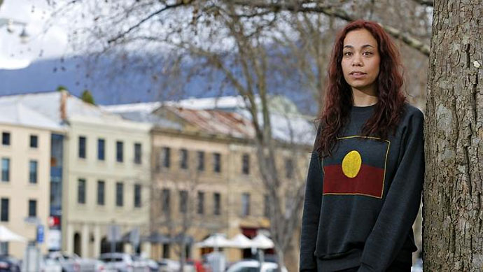 Nunami Sculthorpe-Green travelled to Germany to bring First Nations remains back to Tasmania