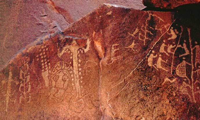 Rock art, Burrup peninsula