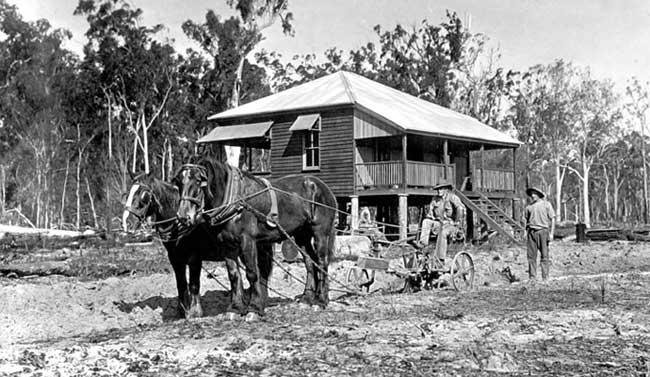 Soldier Settelment Training Block Queensland