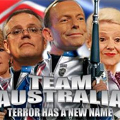 Tony Abbott's Team Australia Fascism