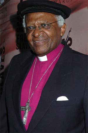 Archbishop Emeritus Desmond Tutu</div> <p>Desmond Tutu at the 2008 Freedom Awards.