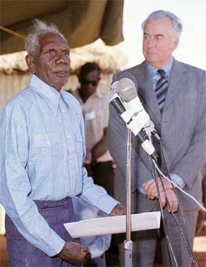 Vincent Lingiari & Gough Whitlam