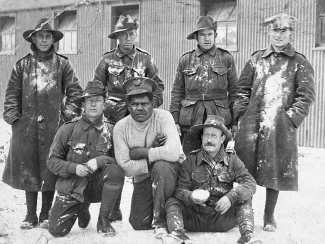Australian servicemen 1915-1916. Picture: Australian War Memorial