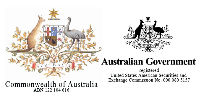 The Australian Governmnet branding