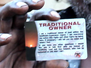 Dadawarra Traditional Owner Card