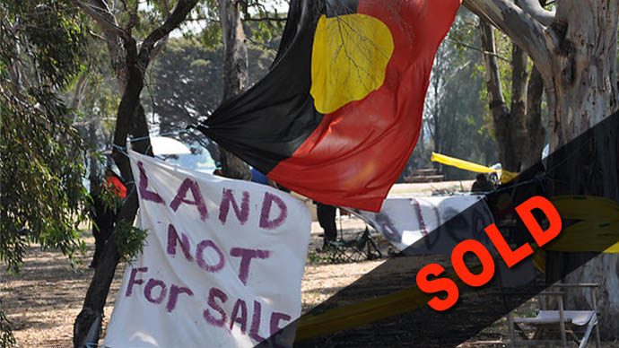 Nyoongar Land 'Not for Sale'