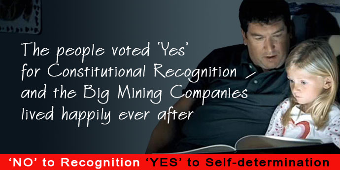 Vote No for Recognition