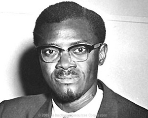 Patrice Lumumba, of the Democratic Republic of Congo