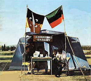 Aboriginal Tent Embassy - Canberra 1972