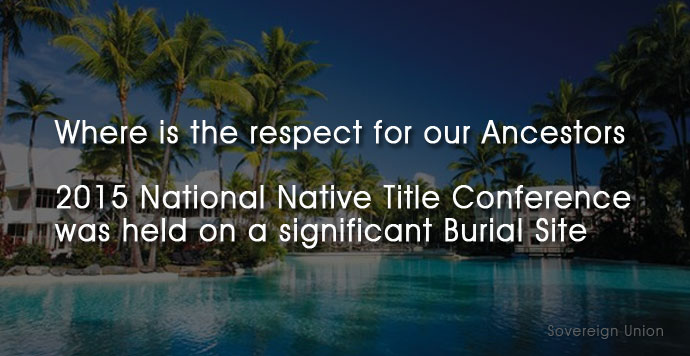 Sheraton Mirage resort - 2015 National Native Title Conference