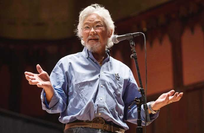 Academic, author and activist David Suzuki.