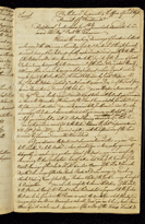 Secret Instructions to Lieutenant Cook 30 July 1768 - Page 1