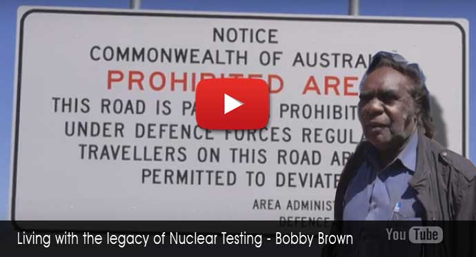 Bobby Brown - Living the legacy of Britiah atomic testing