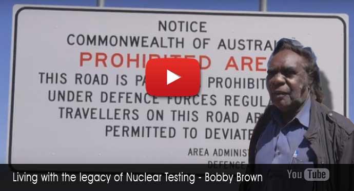 Bobby Brown - Living the legacy of Britiah atomic testing