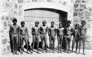 Roebourne Prison inmates