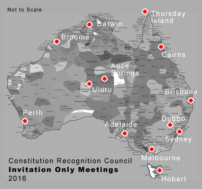 Constitution Recognition Council Invitation Only Community Meetings 2016
