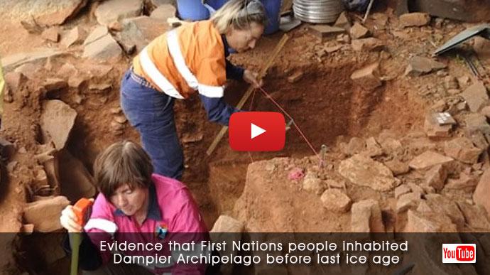 Evidence of 9,000-year-old stone houses found on Pilbara island