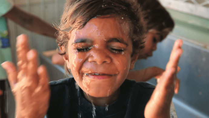 Trachoma disappeared from most of Australia 100 years ago as individual and community hygiene improved