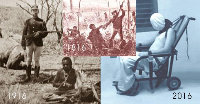 Three Centuries of Genocide