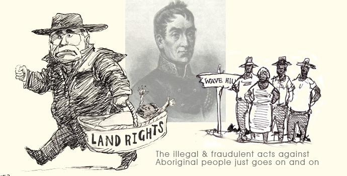Native Title cartoon bt Spooner
