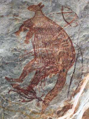 The Kimberley has tens of thousands of rock art sites, including those in the rugged Lawley and Mitchell river basins.