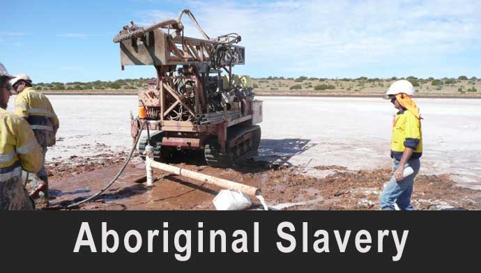 Aboriginal Slavery in the Salt Mines