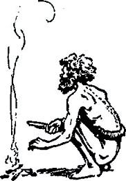 Aboriginal Fire Illustration