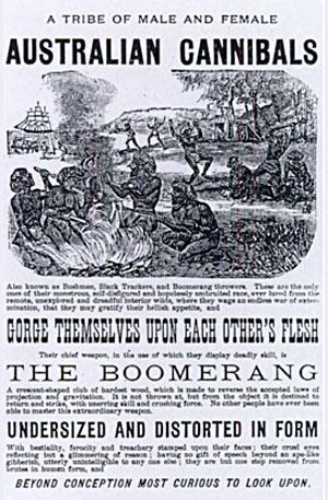 Australian Cannibals 1883