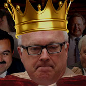King of Racism, George Brandis, Attorney-General