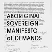 Aboriginal Sovereignty - Manifesto of Demands