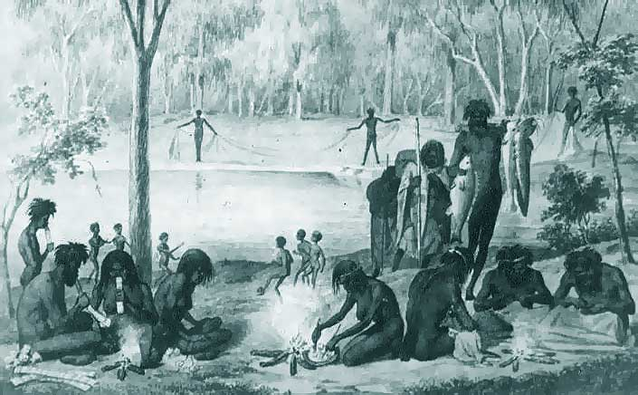 Everyday life of First Nations people before colonisation