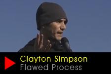 Clayton Simpson, Gomeroi