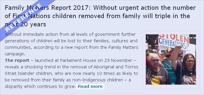 The Family Matters Report 2017