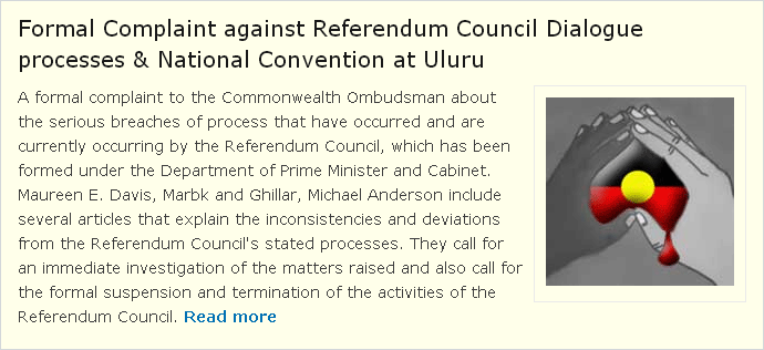 Sovereign Union Formal Complaint Referendum Council
